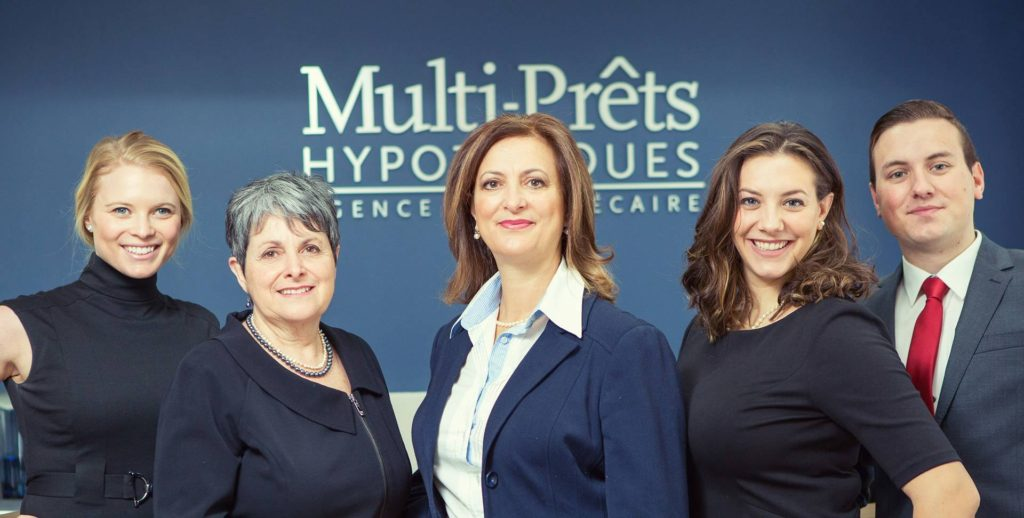 Anna Peluso Multi-Prêts team of brokers